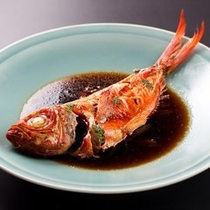 【プラン&別注料理】金目鯛の煮付け