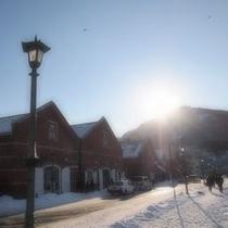 冬の金森倉庫