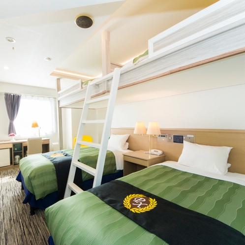 2段ベッドフォースルーム