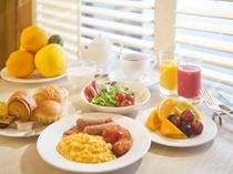 大人気の朝食ブッフェ