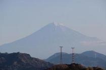 富士山客室階より撮影(2011年12月30日撮影)