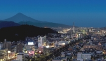 東側(富士山側)の夜景
