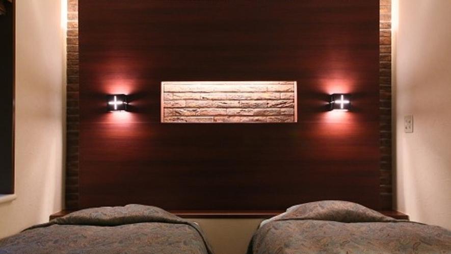 ■デラックス・ツイン ソファー付き 優雅に過ごすモダンな洋室