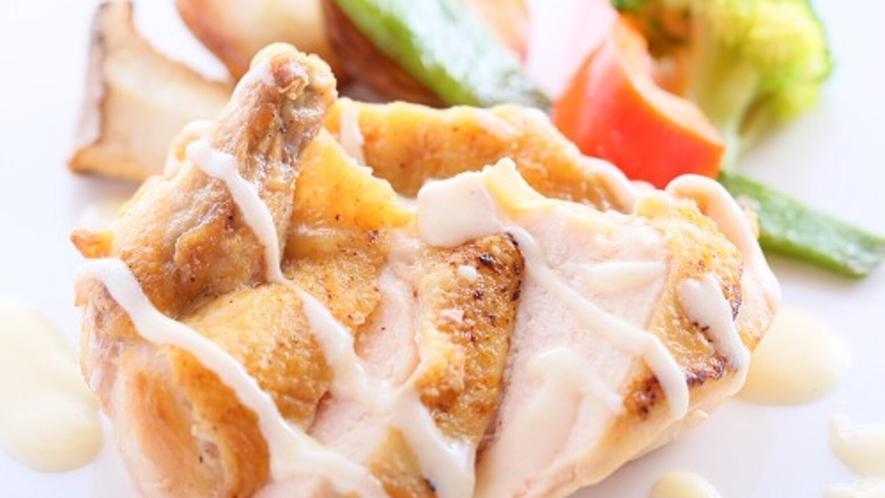 ■リーズナブルなプラン お肉のお料理一例