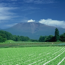 ■夏の浅間山