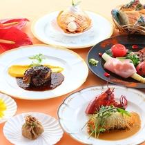 【贅沢グルメプラン】ある日のお料理 大切な方やご家族と楽しいお食事を
