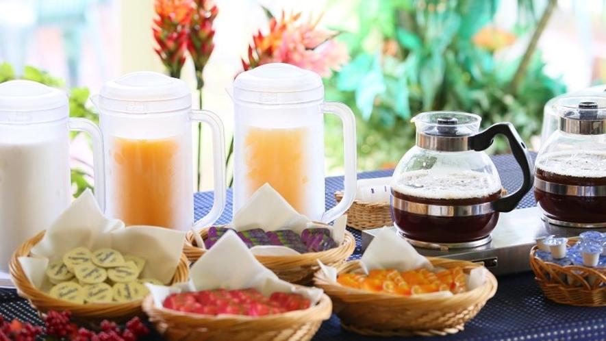 ■朝食 お飲み物一例