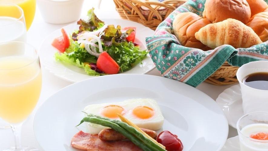 ■朝食 朝から野菜たっぷりと