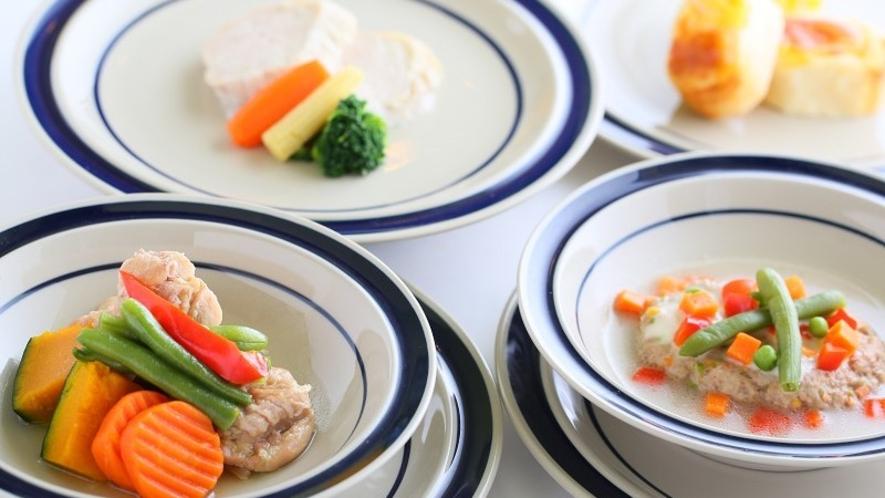 ■ペットのお食事 フルコースもございます
