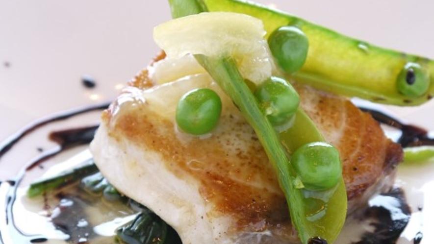 ■リーズナブルなプラン お魚のお料理一例