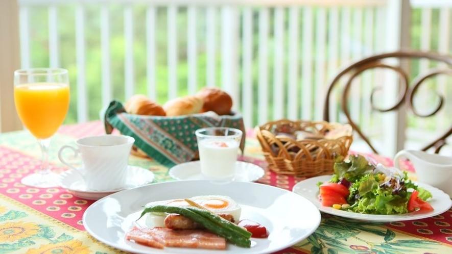 ■朝食一例 ごゆっくりお召し上がりください