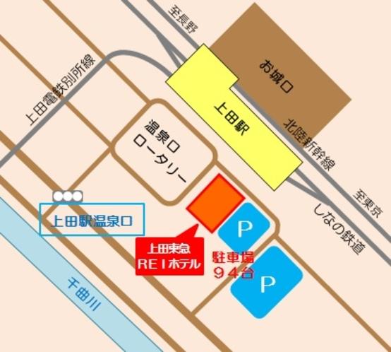 【駐車場案内図】