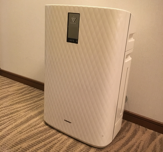 【加湿空気清浄機】ツインルーム・ダブルルームに設置