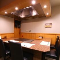 ■鉄板焼 七海 個室(セントラルタワーB1F)