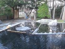秋の露店風呂