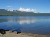 初秋の屈斜路湖