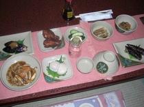 夕食のお料理
