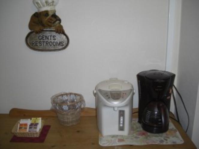 コーヒー・紅茶コーナー
