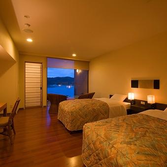 南伊豆で過ごす絶景の露天風呂付洋室