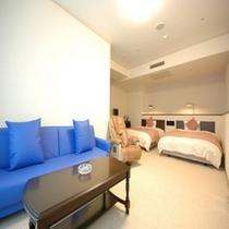 ◆デラックスツインルーム 広さ42㎡ ベットサイズ140×200