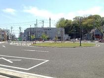 本塩竃駅前ロータリー