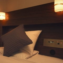 ■プレミアムシングル 快眠仕様のベッド