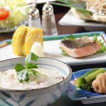 ■ご朝食一例:盛り付けイメージ