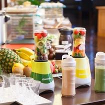 ■ご朝食一例:野菜入りフルーツドリンク