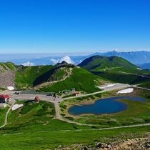 ■夏の乗鞍岳・山頂付近