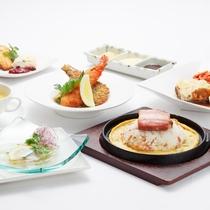 ■【7月1日~8月31日】ホテルの≪THE 洋食≫ バリュコースのお料理プラン お料理一例