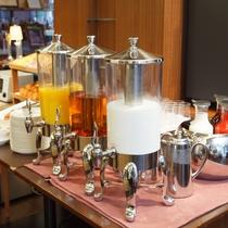 ■ご朝食一例:ジュースコーナー