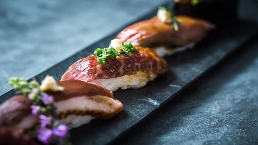 【ランチ・ディナー】肉寿司盛り合わせ