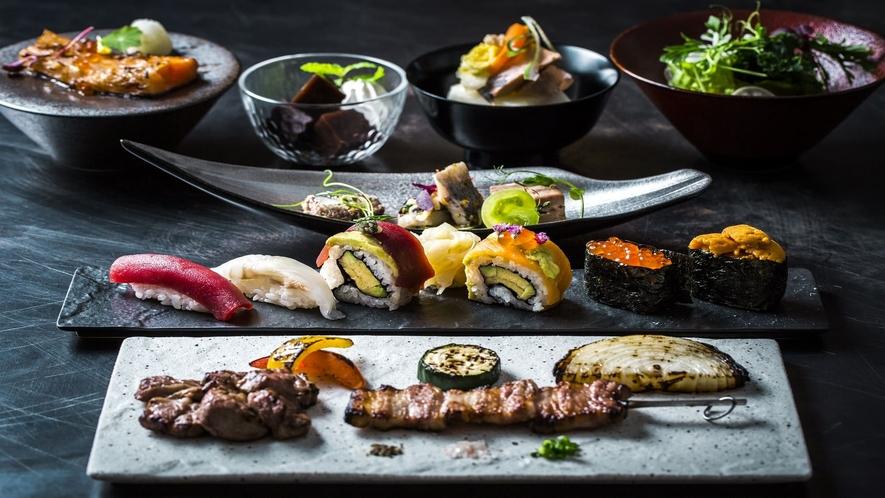 【夕食】SUSHI_GRISSコースB