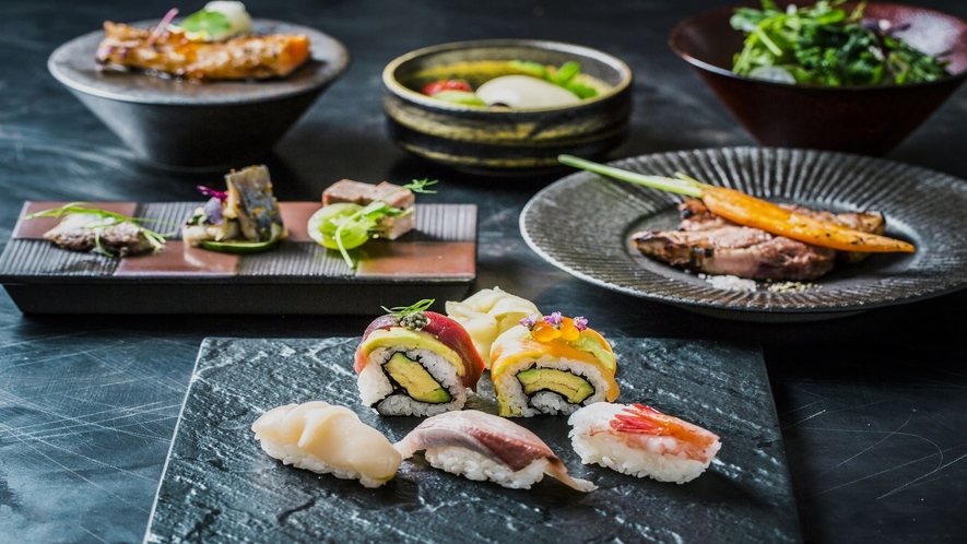 【夕食】SUSHI_GRISSコースA