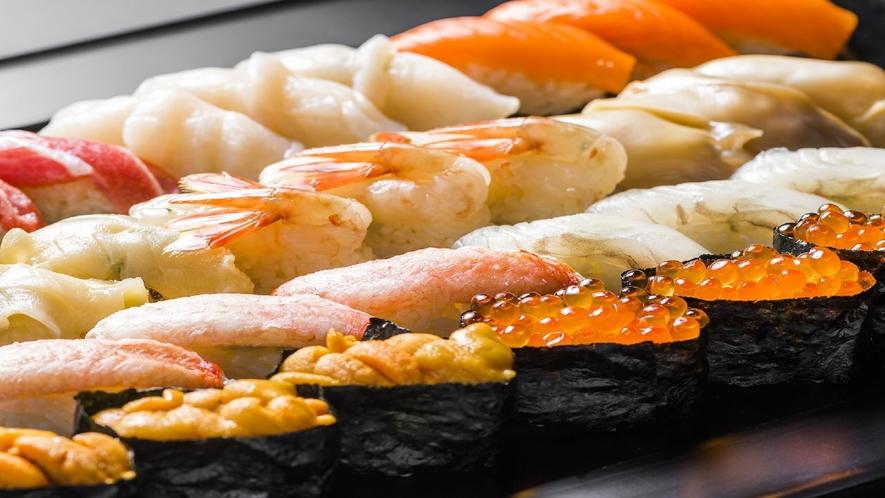 【部屋食限定】特製色内寿司をお部屋でお楽しみくださいませ!