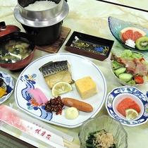 【お料理】朝食一例*朝から新鮮なご飯をどうぞ