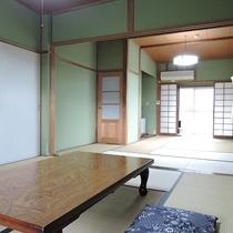 【お部屋】おまかせ和室*明るい光が差し込みます
