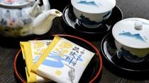 *【部屋】到着後はお茶で一息♪ごゆるりと???