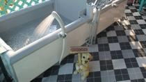 *【温泉】犬用のお風呂が外にございます