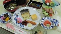 *【お料理】朝食一例*朝から新鮮なご飯をどうぞ
