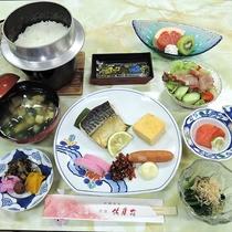 【お料理】朝食*素材の旨味と優しい味付けが美味しい和朝食。