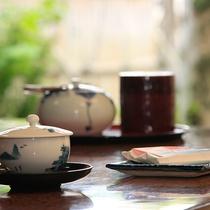 【部屋】到着後はお茶で一息♪ごゆるりと・・・