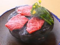 高森牛の石焼きステーキ