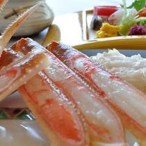 能登の自然と食材の融合。オンリーワン・・。それは「深層水蒸し蟹」を味わう新しい発見!
