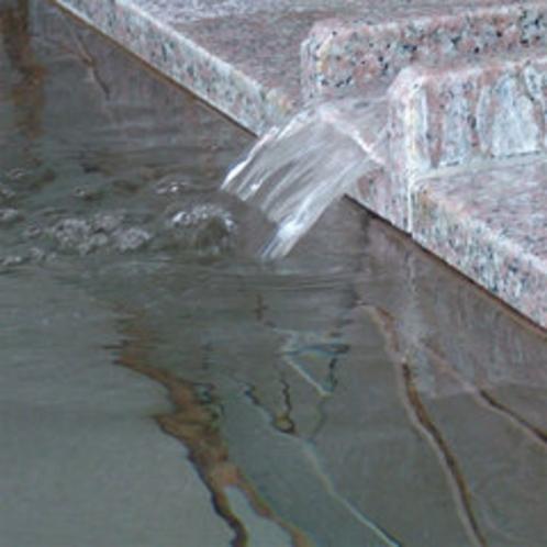 神秘の恵み、ミネラル豊富な海洋深層水のお湯は、新陳代謝にもよく芯から温まります。