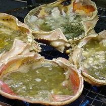 蟹のみそを特製のダシで煮る食べ方は絶品!
