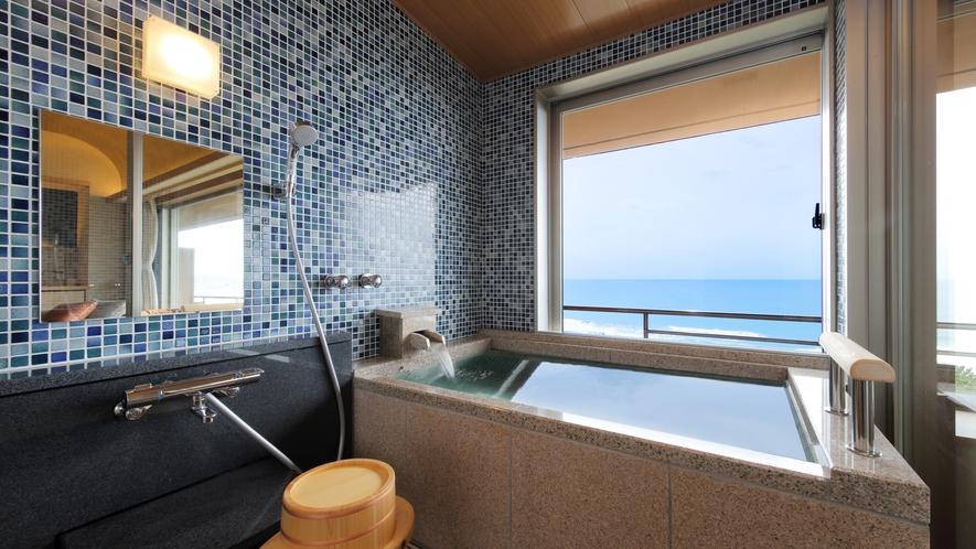 <NEW>温泉半露天風呂付き和洋室(和室+TWベッド:テラス風リビングタイプ)[8-7F]