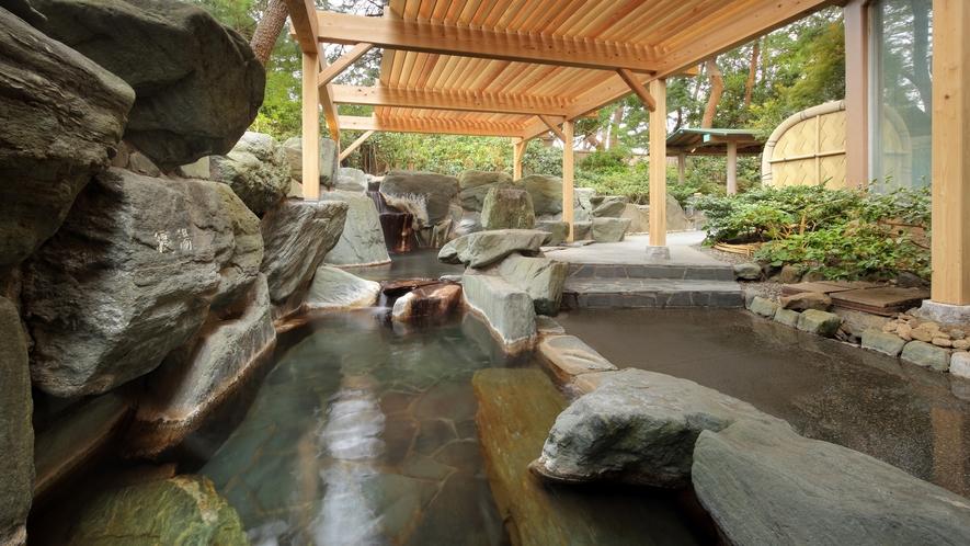 大浴場「安房八景の湯」_露天岩風呂