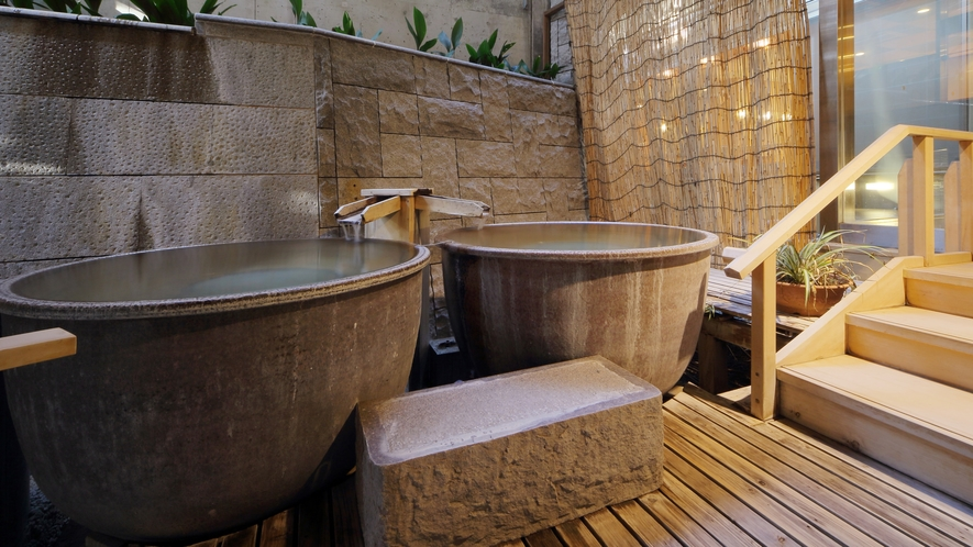 大浴場「白糸の美肌湯」_瓶風呂