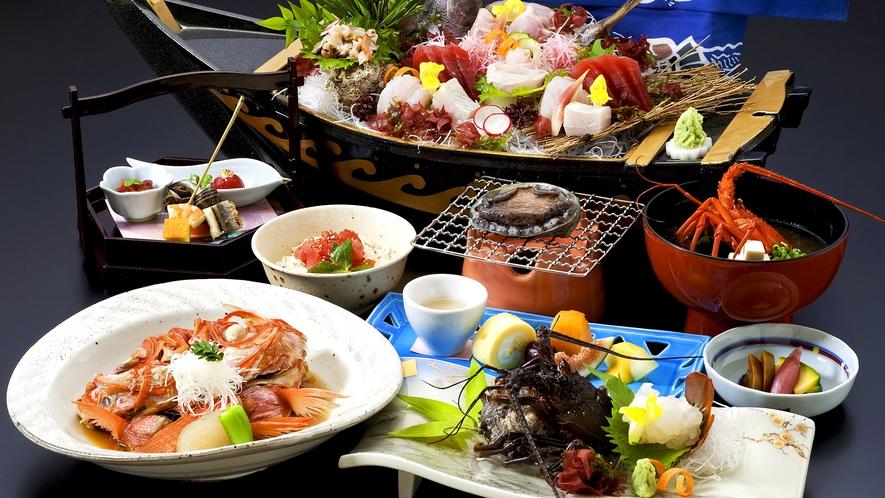 大漁プラン料理(イメージ)